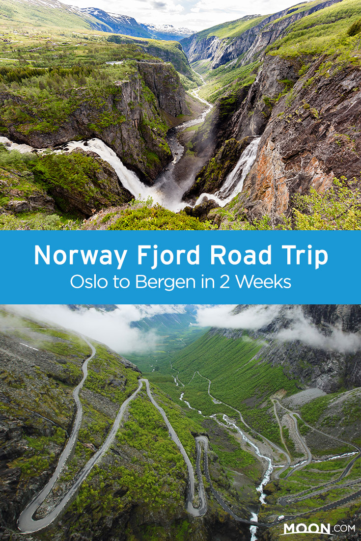 norway road trip pinterest graphic