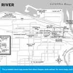 Map of Hood River, Oregon