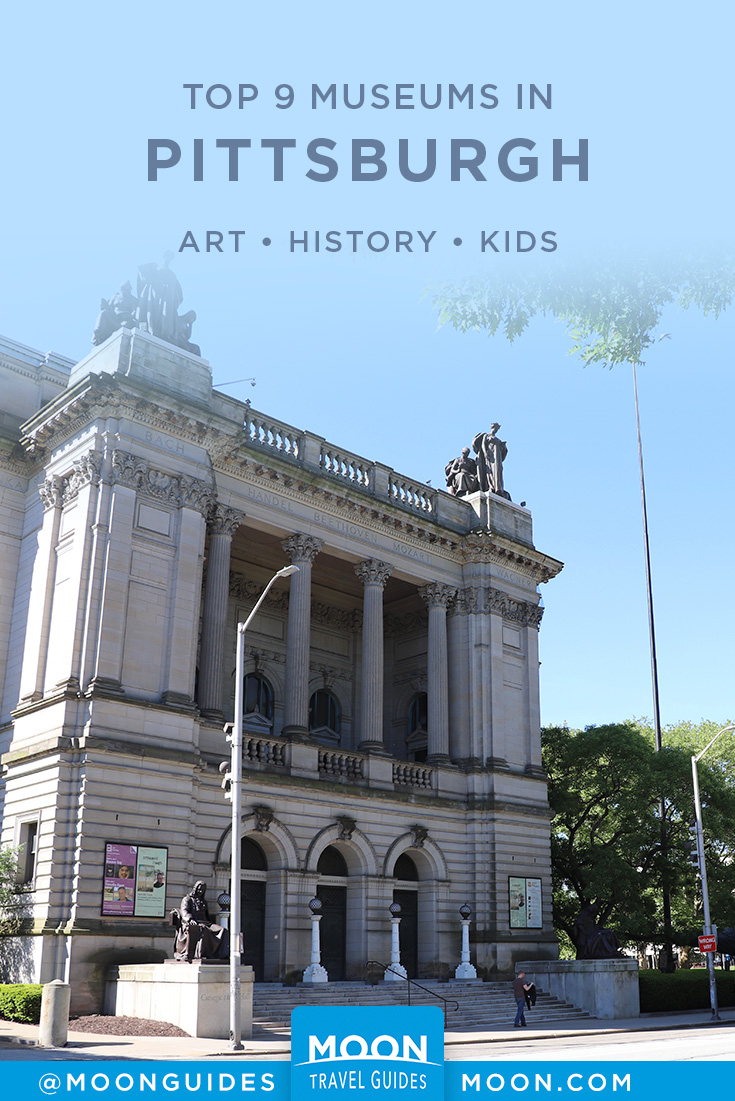 Pittsburgh Museums pinterest graphic