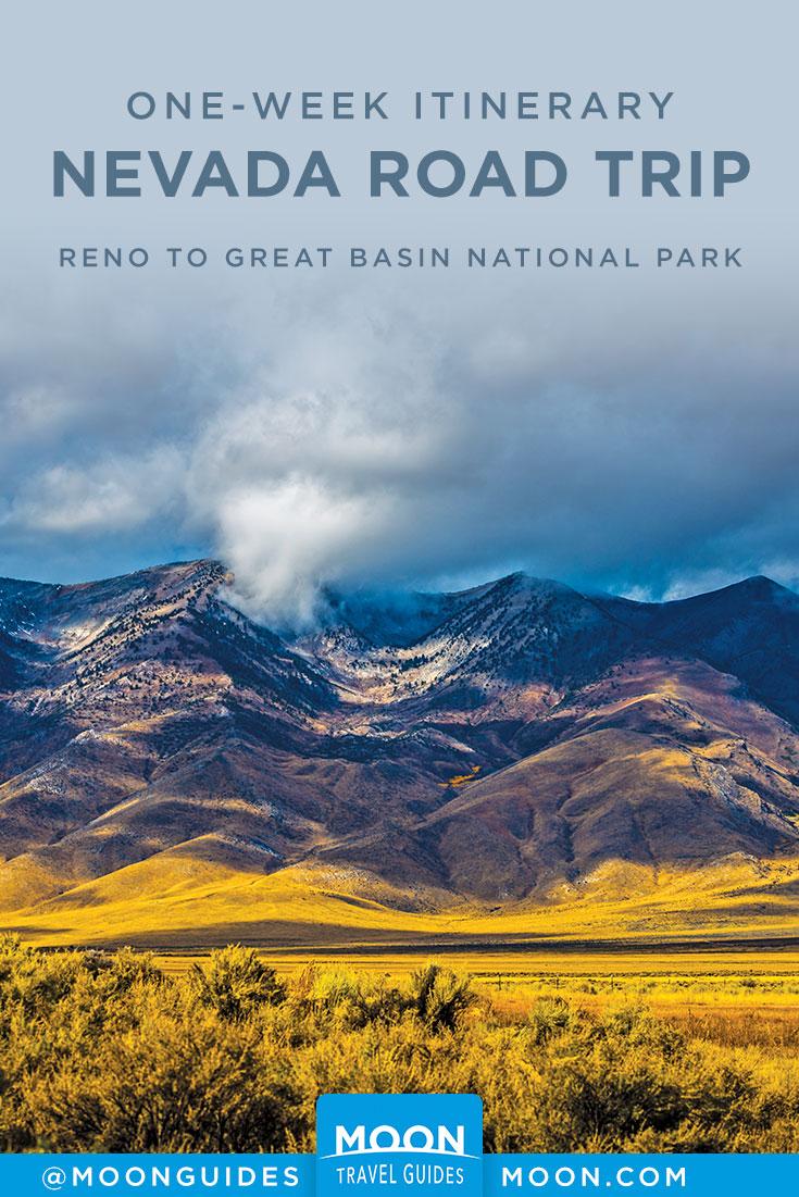 Reno Road Trip Pinterest graphic
