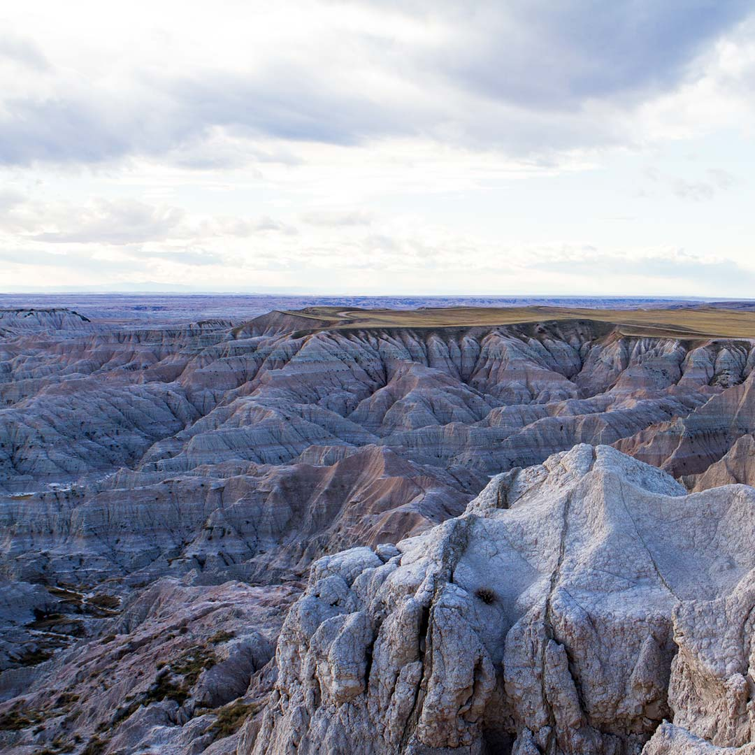 Badlands National Park from the Pinnacles Overlook.
