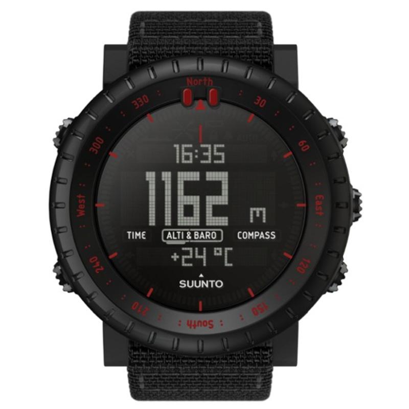 black watch with digital display