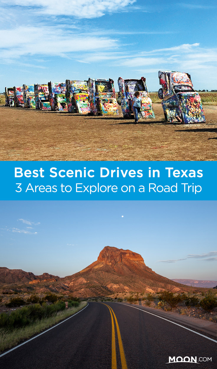texas scenic drives pinterest graphic