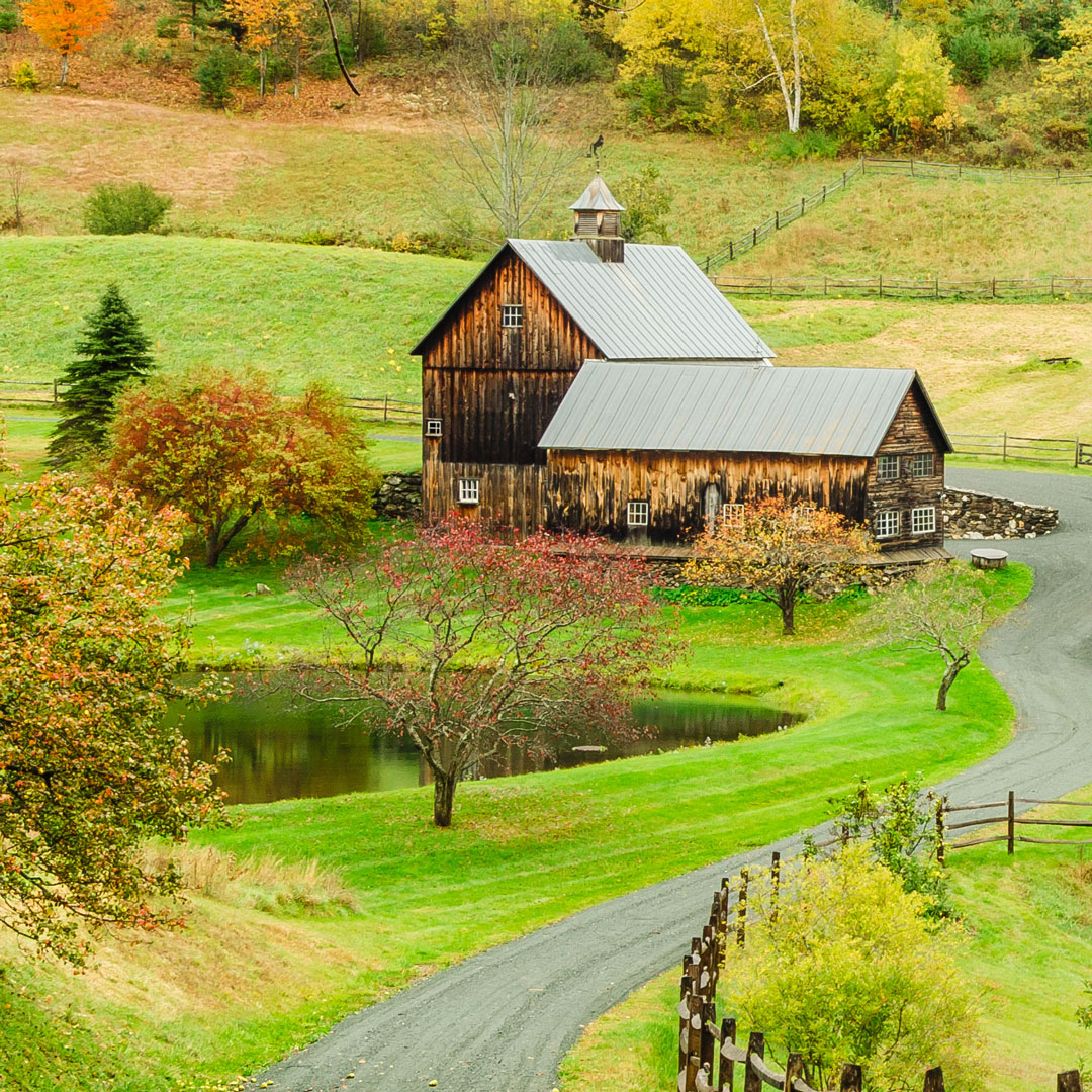 barn in Woodstock, Vermont