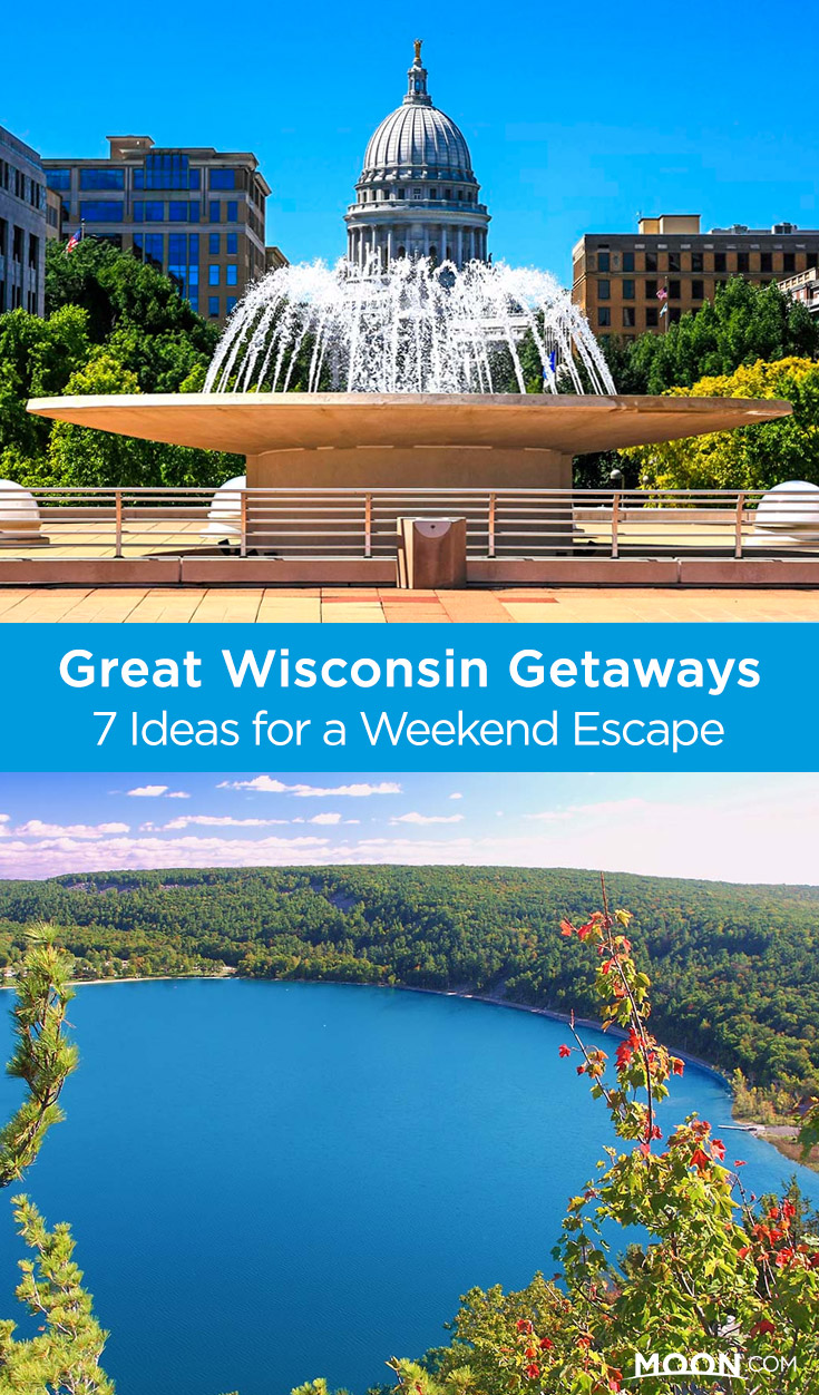 Wisconsin is perfect for weekend getaways. The itineraries here can either be used as-is for a weekend, or combined in almost any way for longer trips.