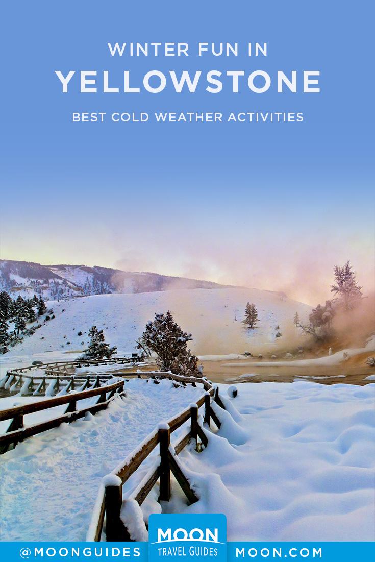 Yellowstone Winter Pinterest graphic