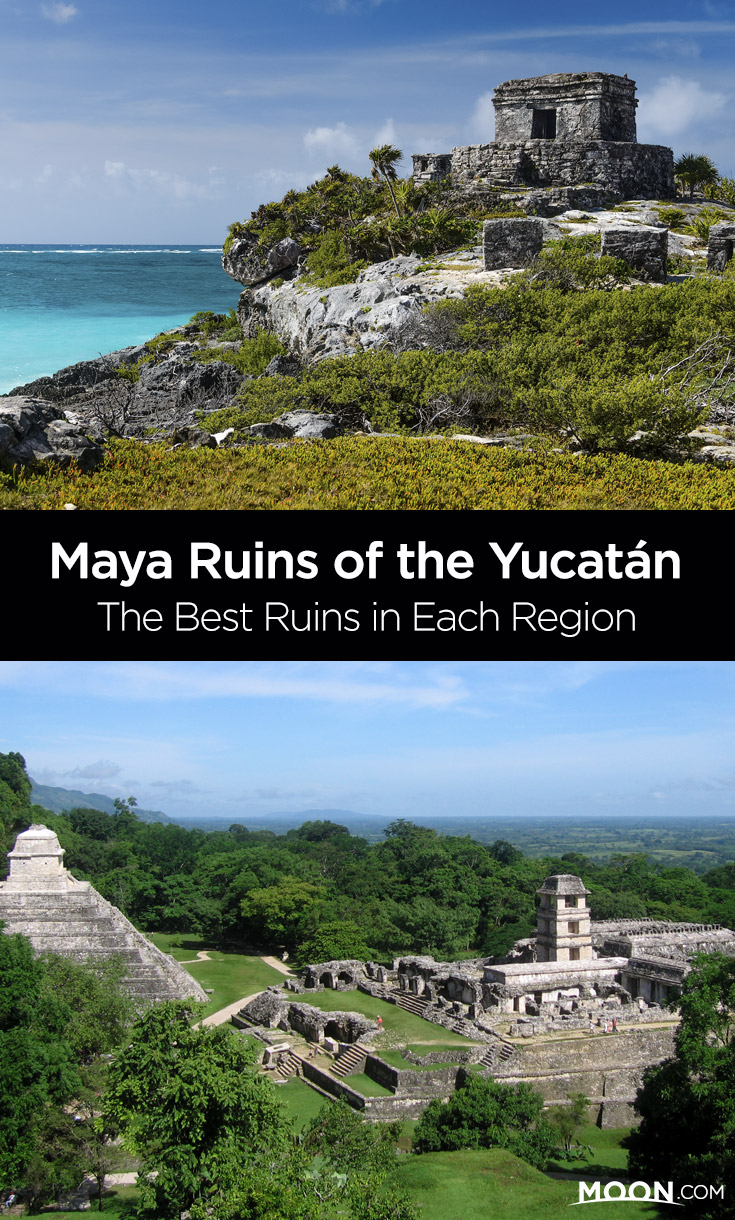 For many people, the Maya ruins are the Yucatán Peninsula's greatest attraction, with their massive pyramids and palaces and amazing artistic and astronomical features. Few visitors have time to visit every site in a single trip; here is a description of the best Maya ruins in each region to help you decide which ones to add to your Mexico travel itinerary—and which to save for next time!
