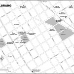 Map of Belgrano, Buenos Aires, Argentina