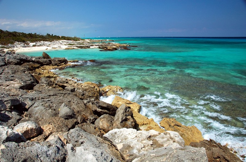 The coast of Isla Cozumel. Photo © Robert Flannagan/123rf.