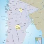 Map of Northern Baja
