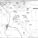 Map of Mexicali, Mexico