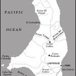 Map of Isla Cedros, Mexico