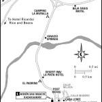 Map of San Ignacio, Mexico