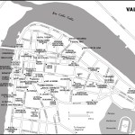 Map of Valdivia, Chile