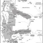 Map of Parque Nacional Los Glaciares, Chile