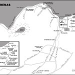 Map of Las Terrenas, Dominican Republic