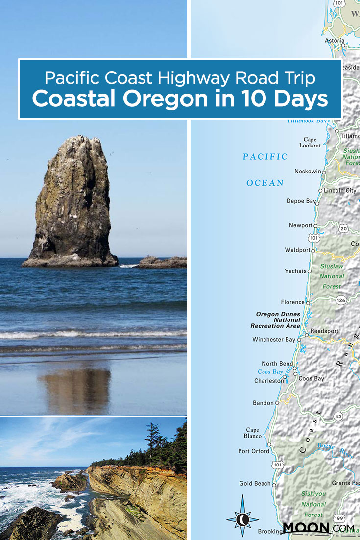 Plan your Oregon coast road trip along U.S. 101 with this flexible 10-day itinerary, featuring the area's most iconic coastal sights.