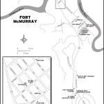 Map of Fort McMurray, AB