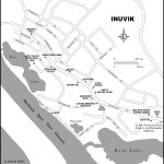 Map of Inuvik, NT