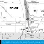 Map of Beloit, Wisconsin