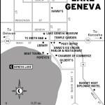 Map of Lake Geneva, Wisconsin