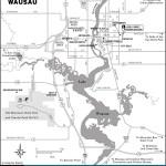 Map of Wausau, Wisconsin