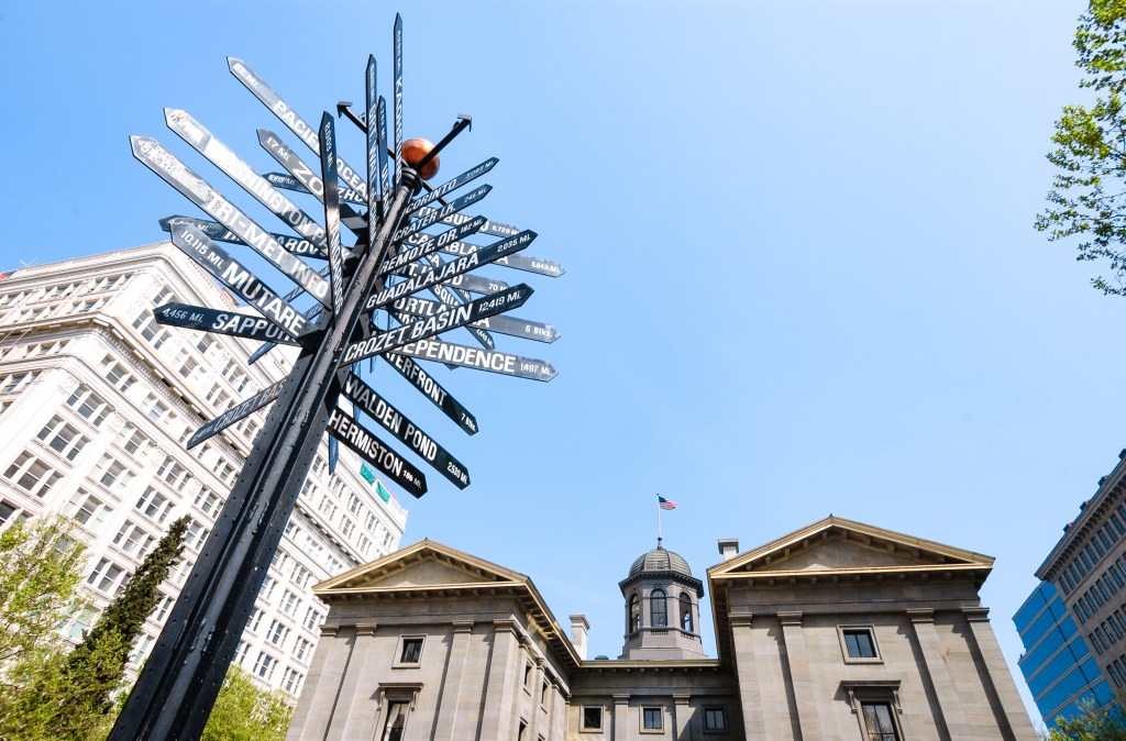 Portland's Pioneer Square