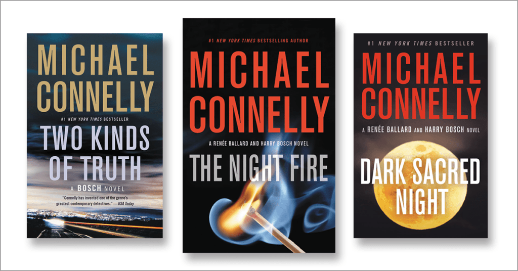 Michael Connelly's Harry Bosch Books in Order