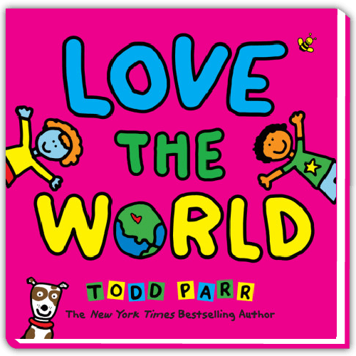 SCHOLASTIC TO PUBLISH LOVE THE WORLD FALL 2019