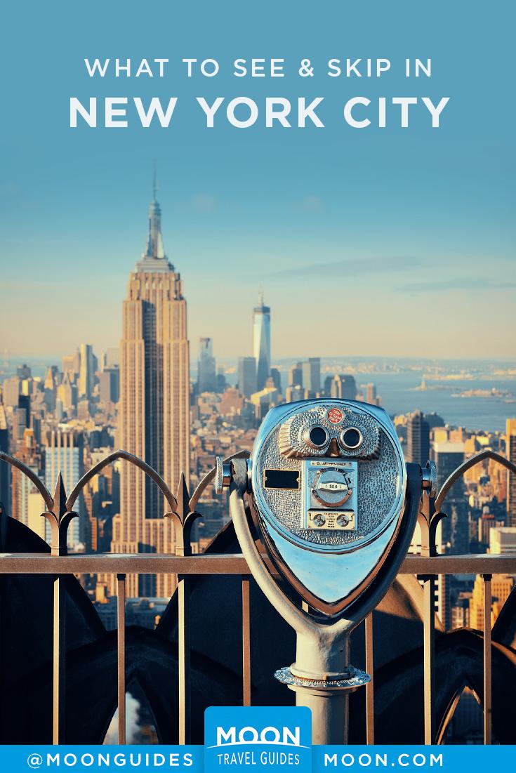 new york city sights pinterest graphic