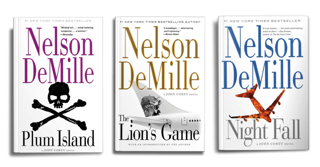 Nelson DeMille's John Corey Books In Order