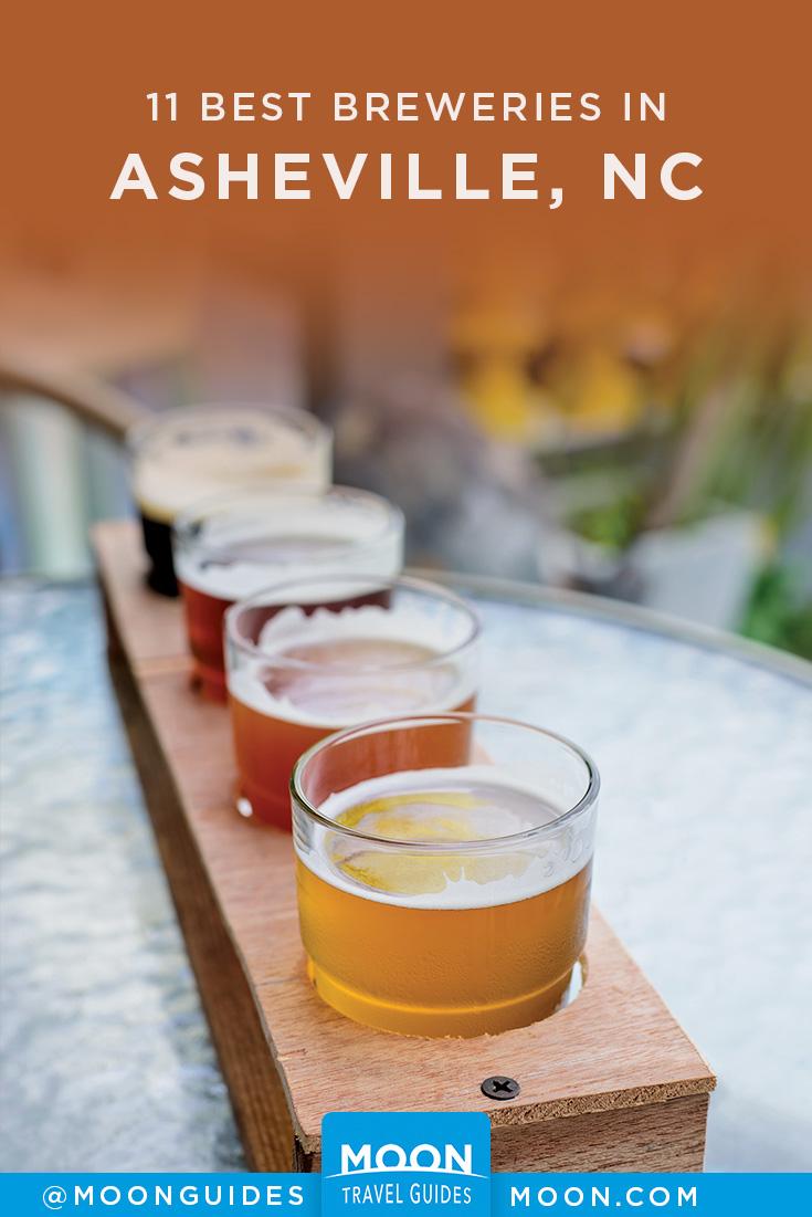 asheville breweries pinterest graphic