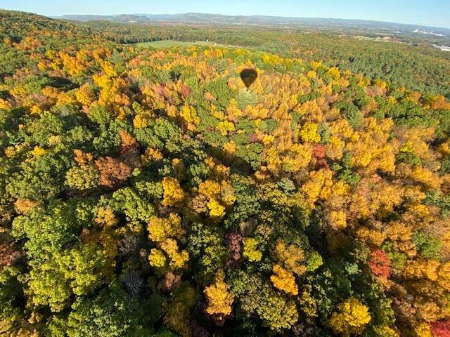 Berkshires aerial shot