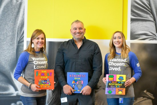 Todd Parr at Best Buy Corporate Offices for Keynote