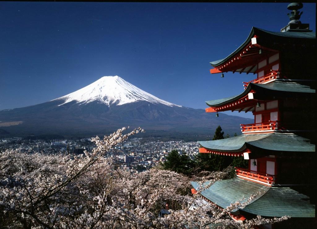 Chureito Peace Pagoda