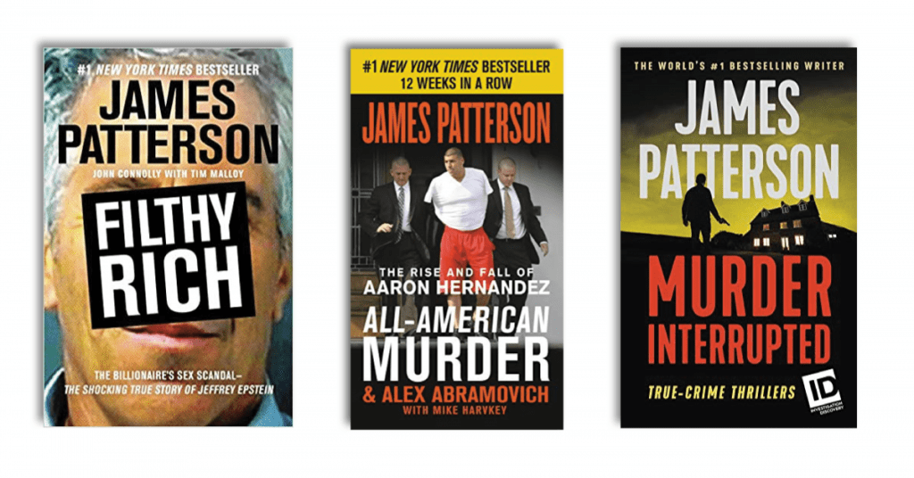 James Patterson's Best True Crime Books Featured Image