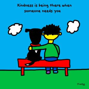 Illustration by Todd Parr about kindness