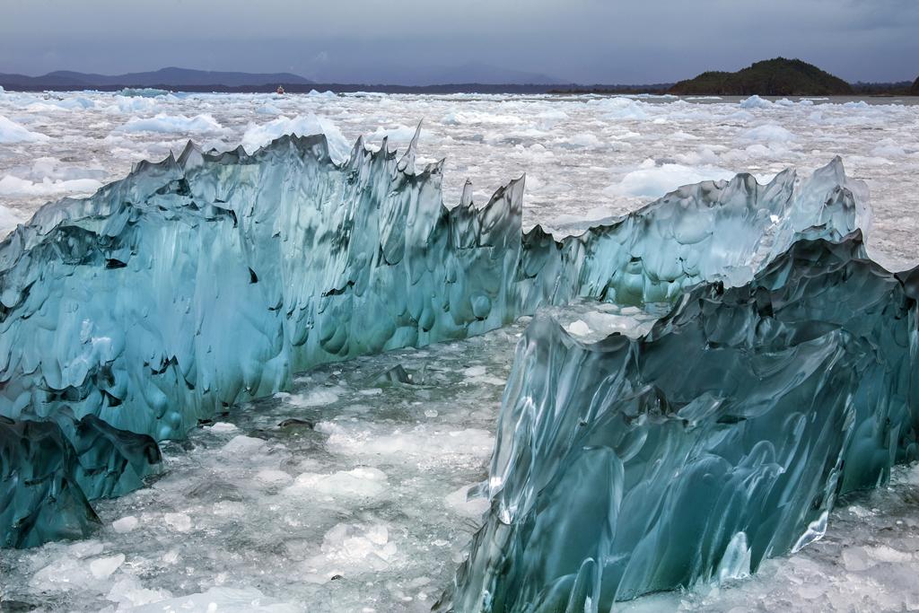 Photo of Parque Nacional Laguna San Rafael in Chile with glaciers