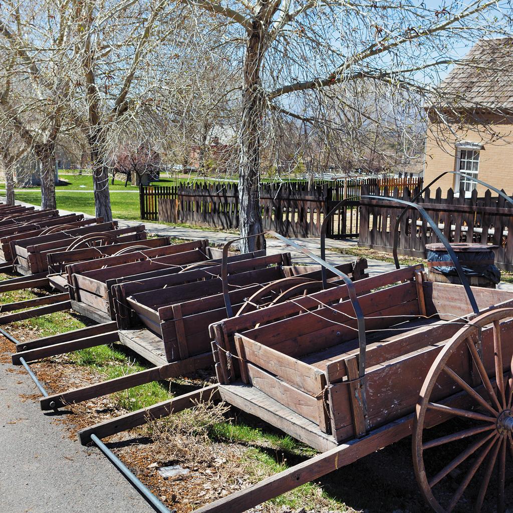 Mormon Handcart Historic Site at Martin's Cove