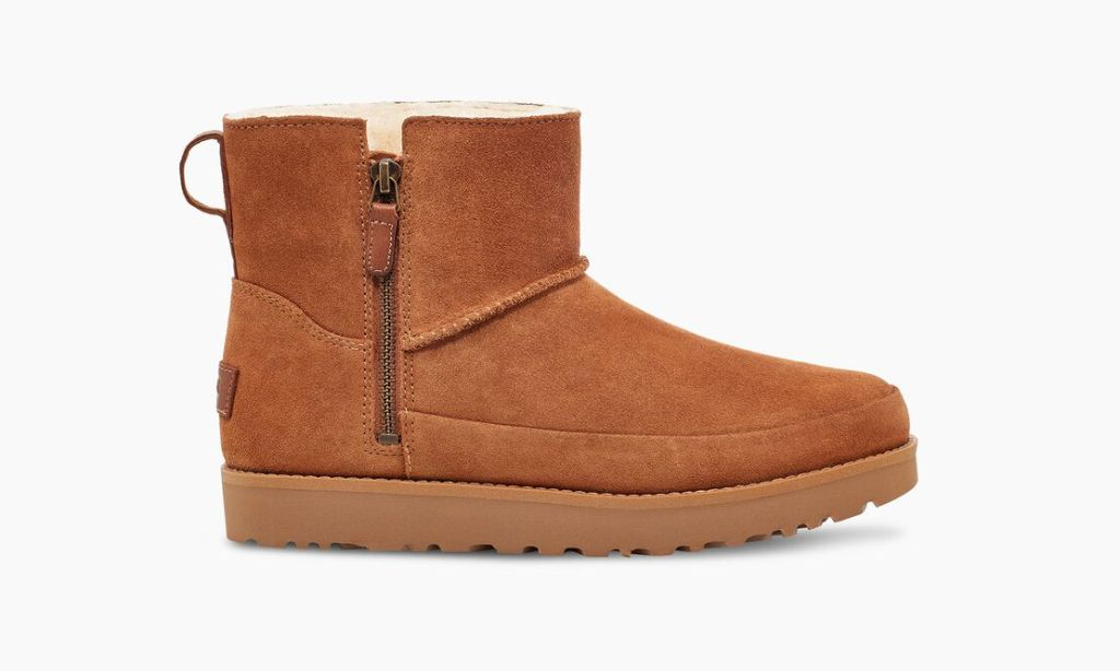 photo of light brown boots