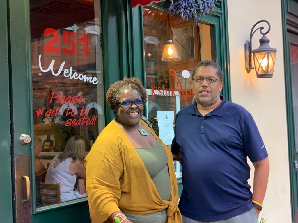 Tracey and Jamel Richardson of Lillie's