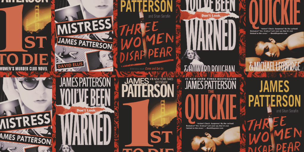 Five James Patterson Books Perfect For Valentine's Day