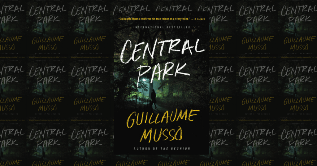 Central Park by Guillaume Musso Book Cover