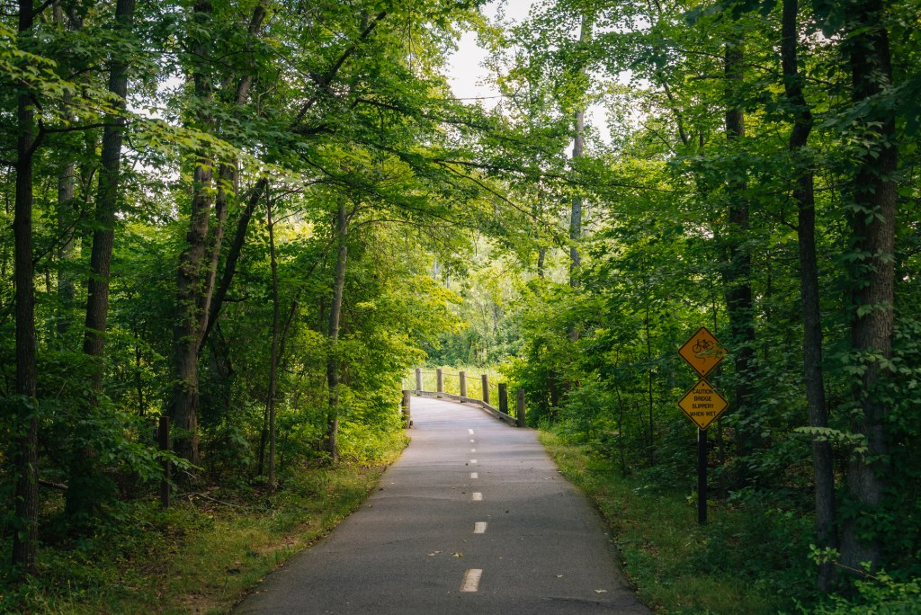 Mount Vernon Trail in Alexandria, Virginia