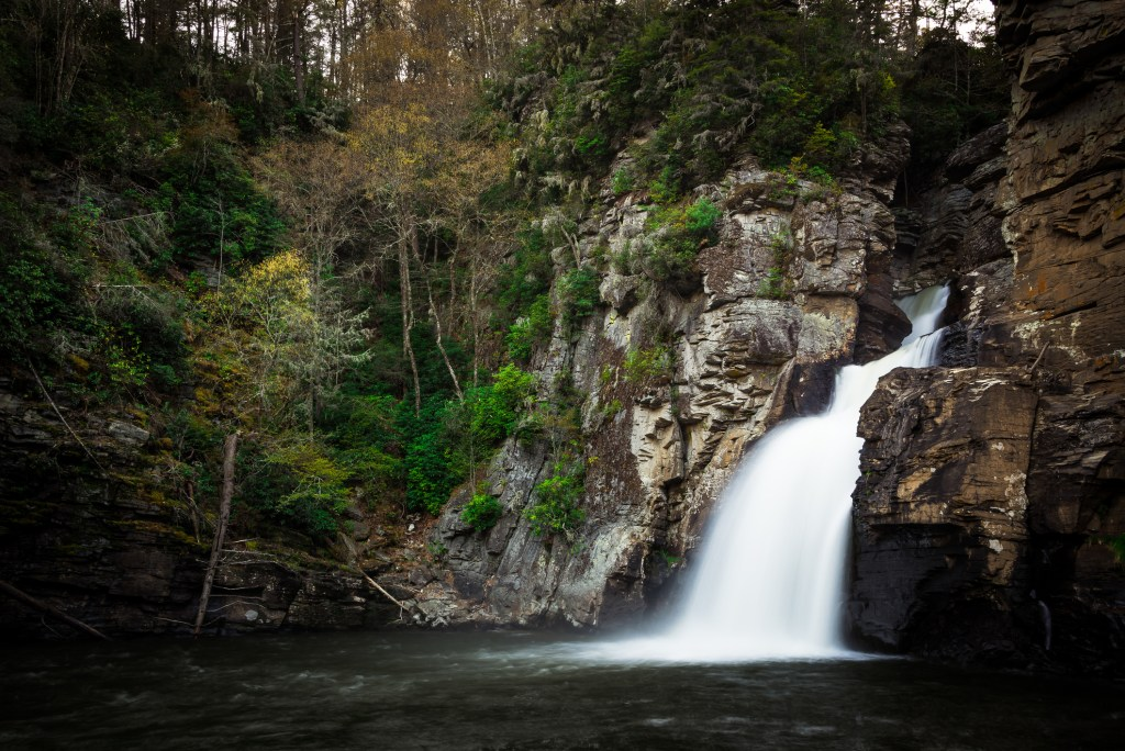 View of Linville Falls