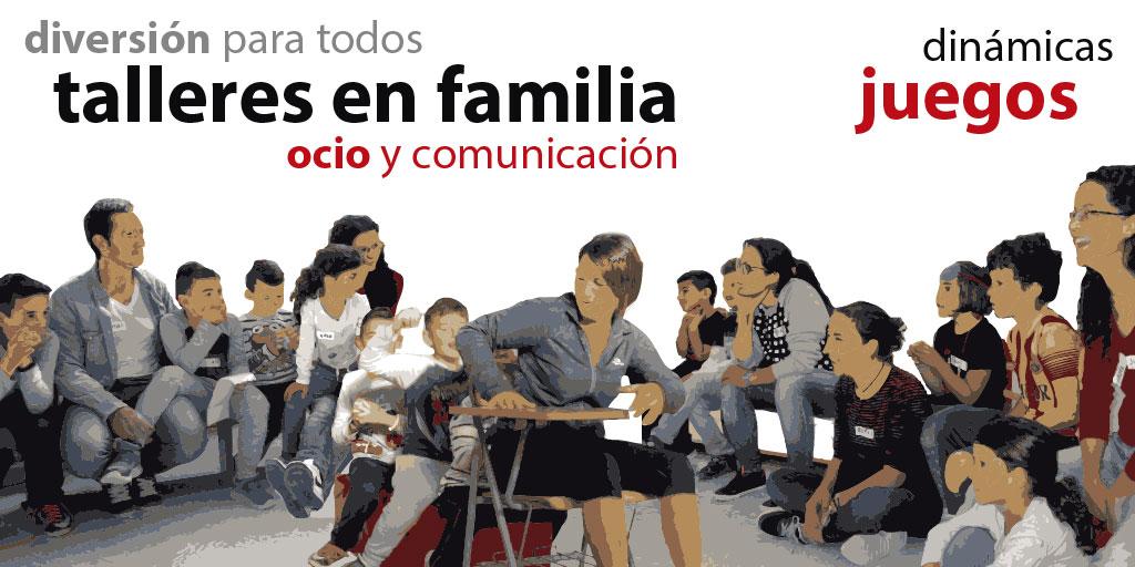 talleres en familia juegos dinámicas diversión familiar Cartagena Murcia