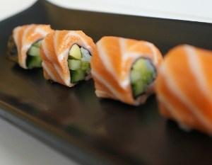 Rollo Aguas Arriba @ Receta de Sushi