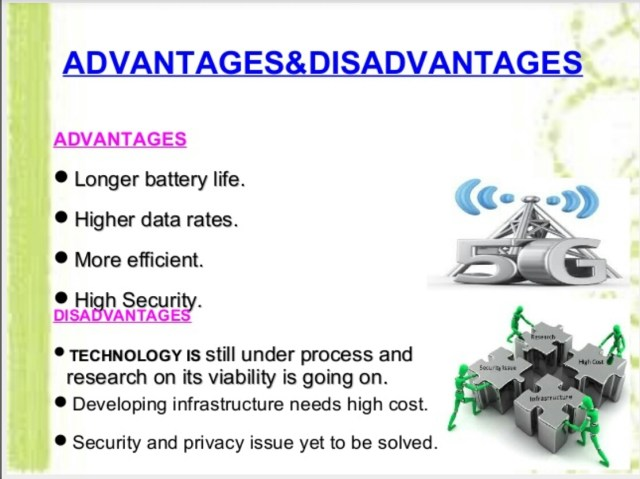 advantages and disadvantages of 5g