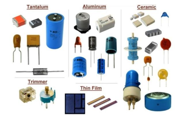 Is capacitor a passive components