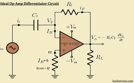 opamp differentiator circuit